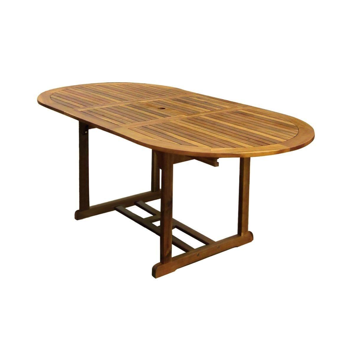 Charles Bentley Hardwood Oval Table