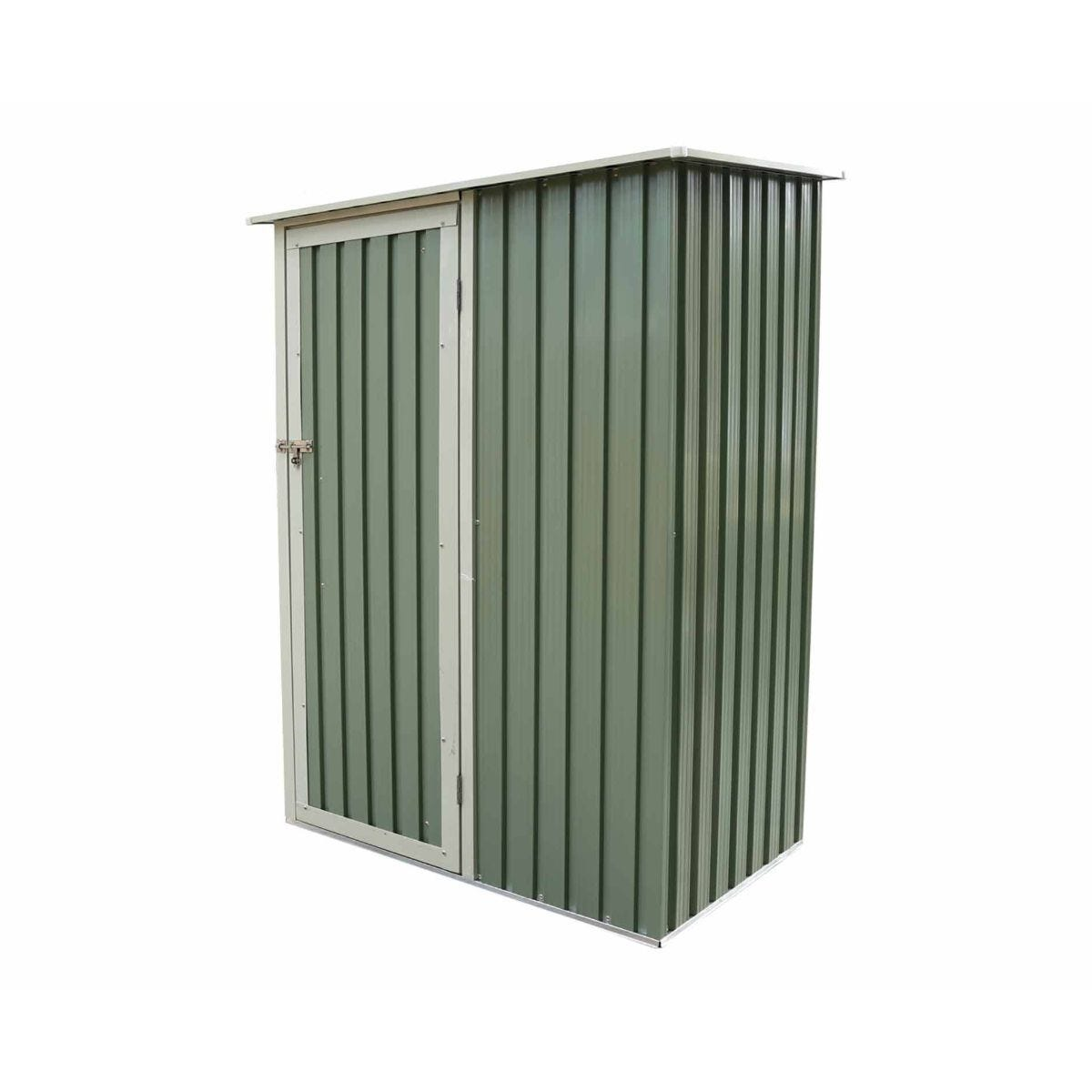 Charles Bentley 4-7ft x 3ft Metal Storage Shed