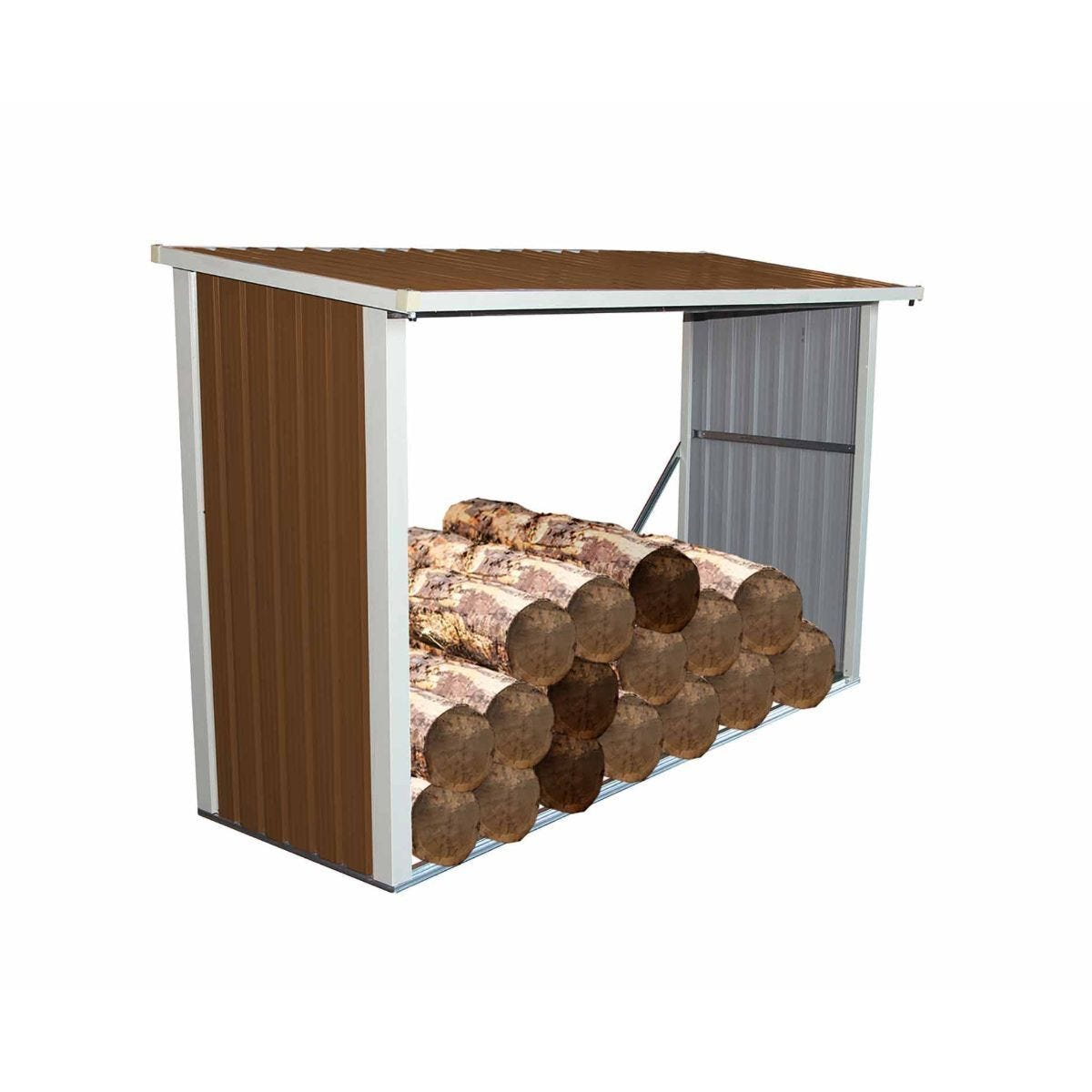Charles Bentley Metal Log Stores 8x3ft