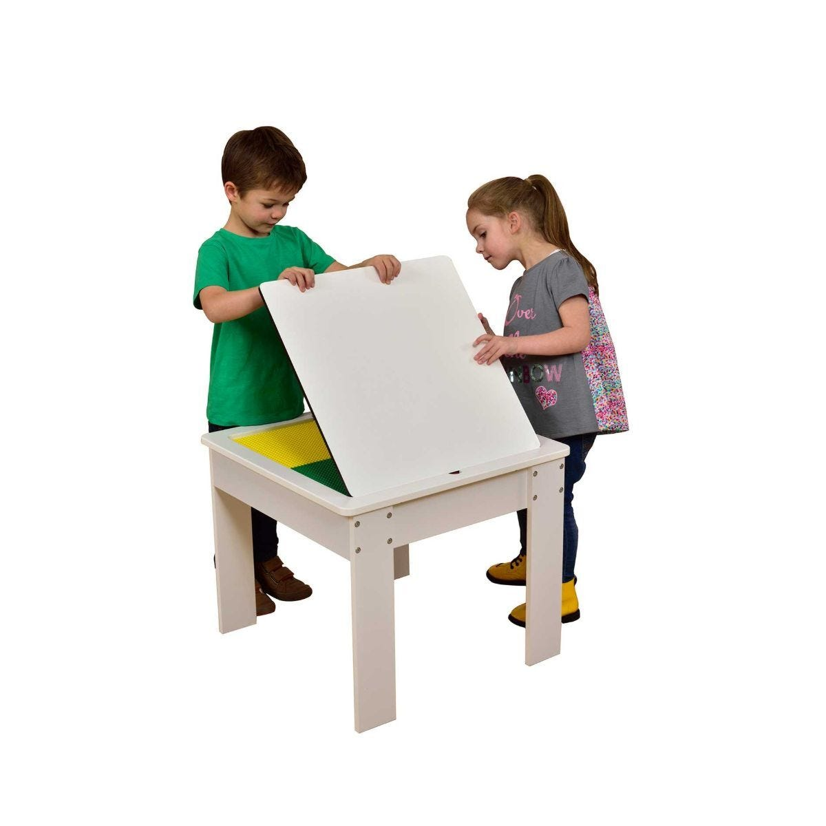 Childrens 4 in 1 Wooden Play Table