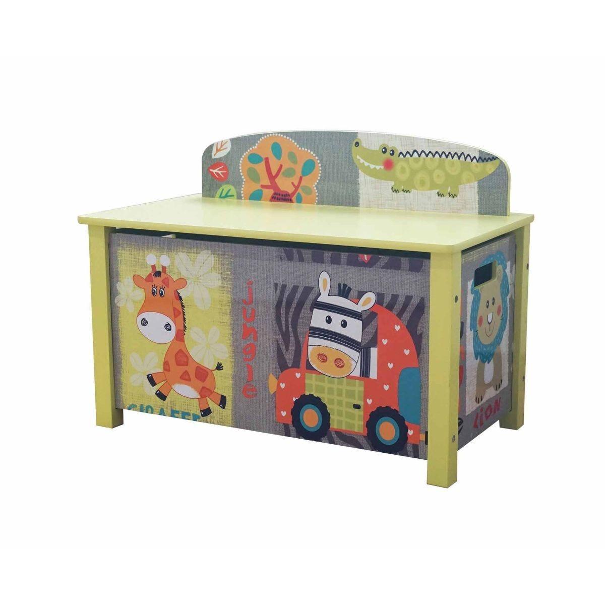 Liberty House Kid Safari Wooden Toy Box