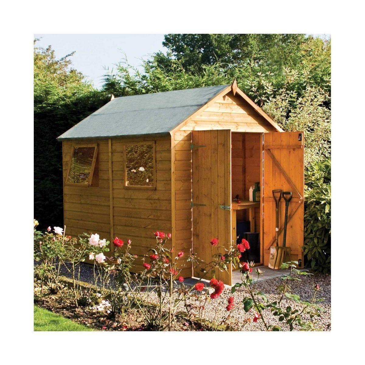 Rowlinson Premier Garden Shed 8 x 6Ft