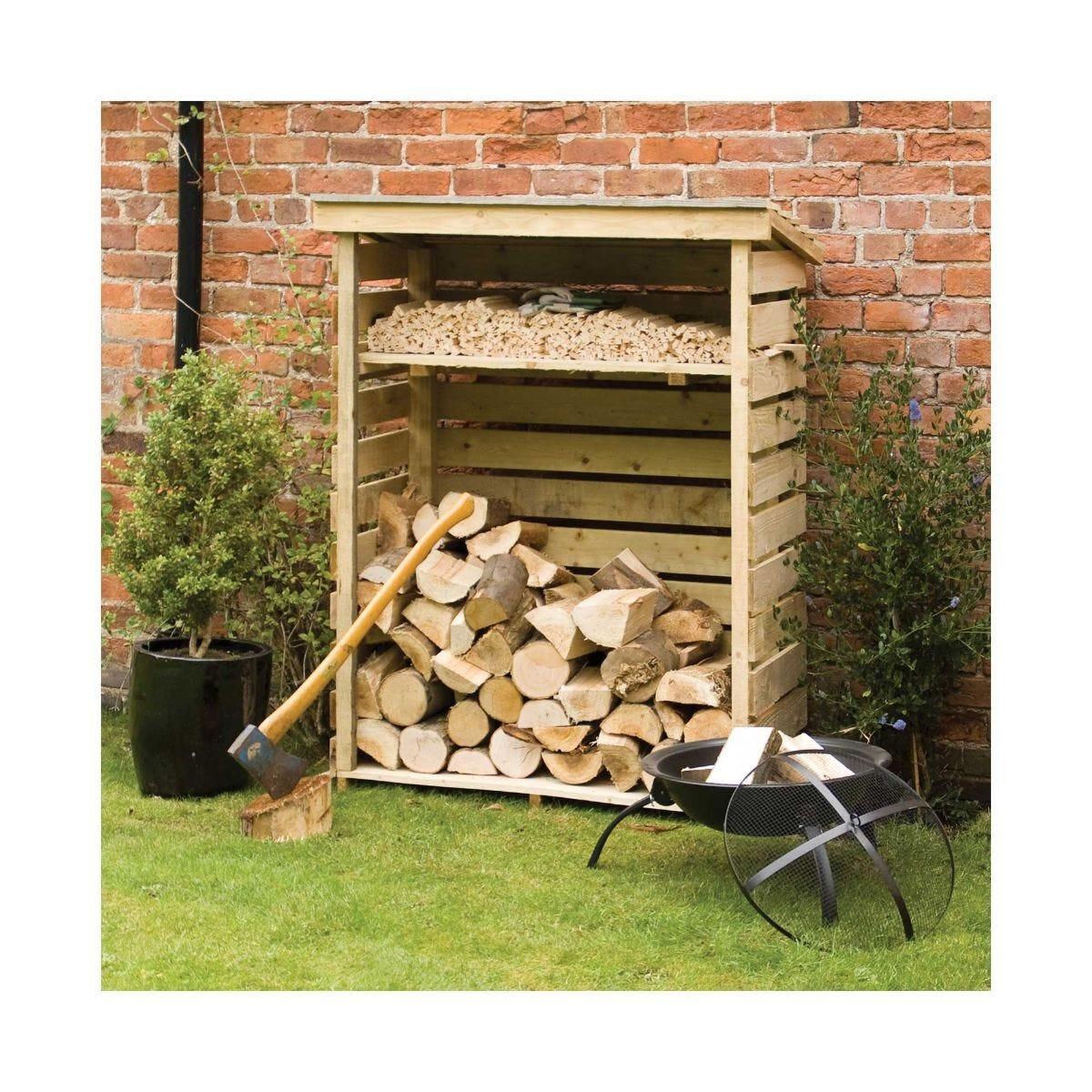 Rowlinson Pressure Treated Small Log Store