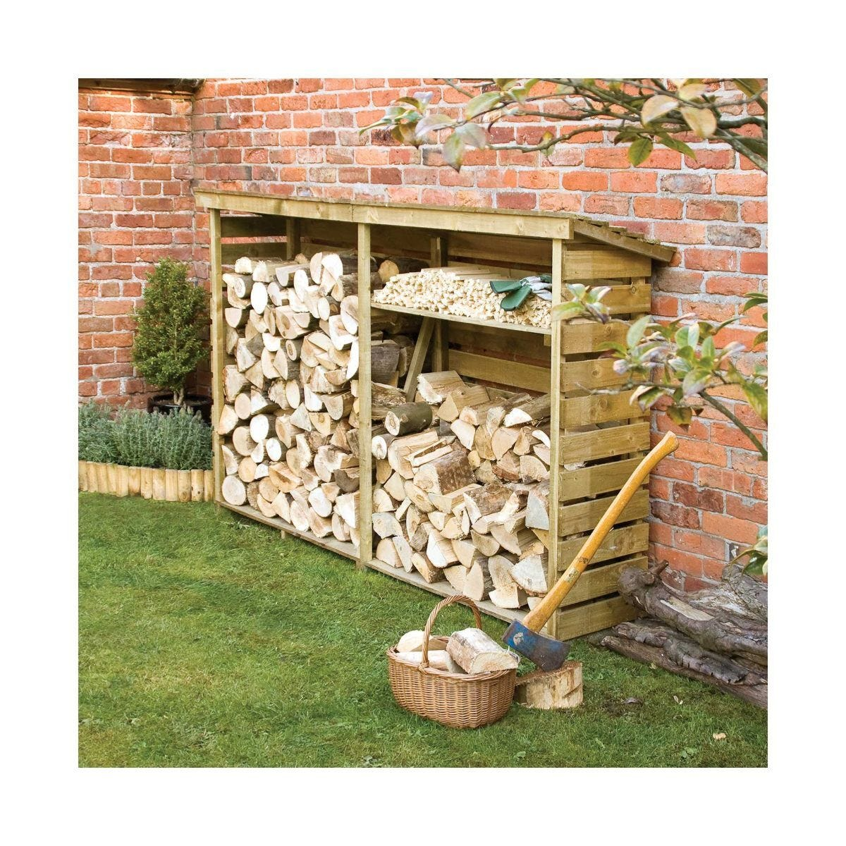 Rowlinson Pressure Treated Large Log Store