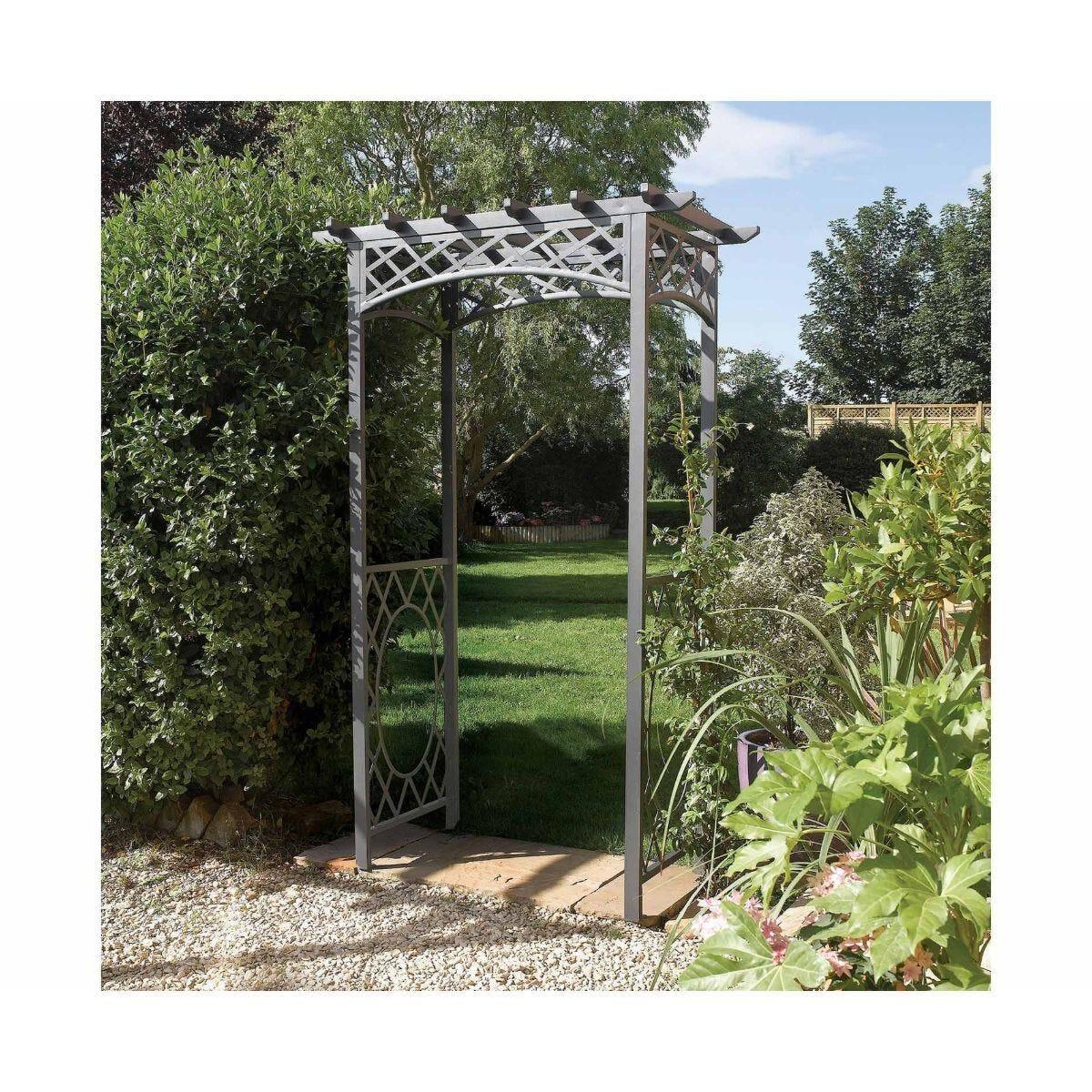 Rowlinson Wrenbury Square Top Garden Arch