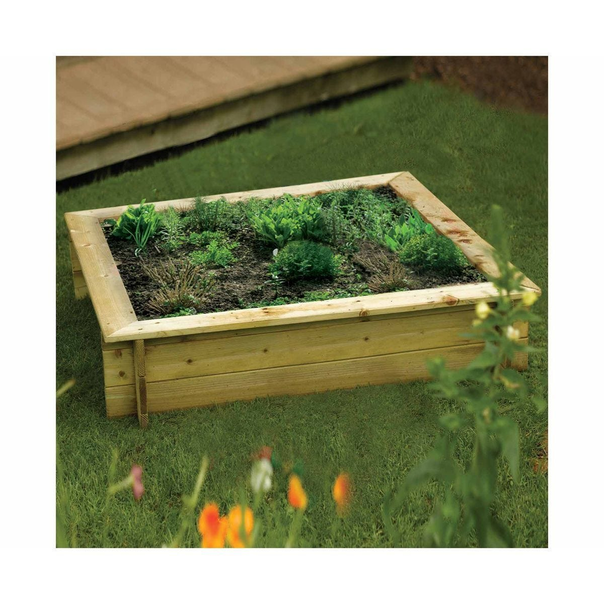 Rowlinson Multipurpose Raised Garden Bed or Childrens Sandpit