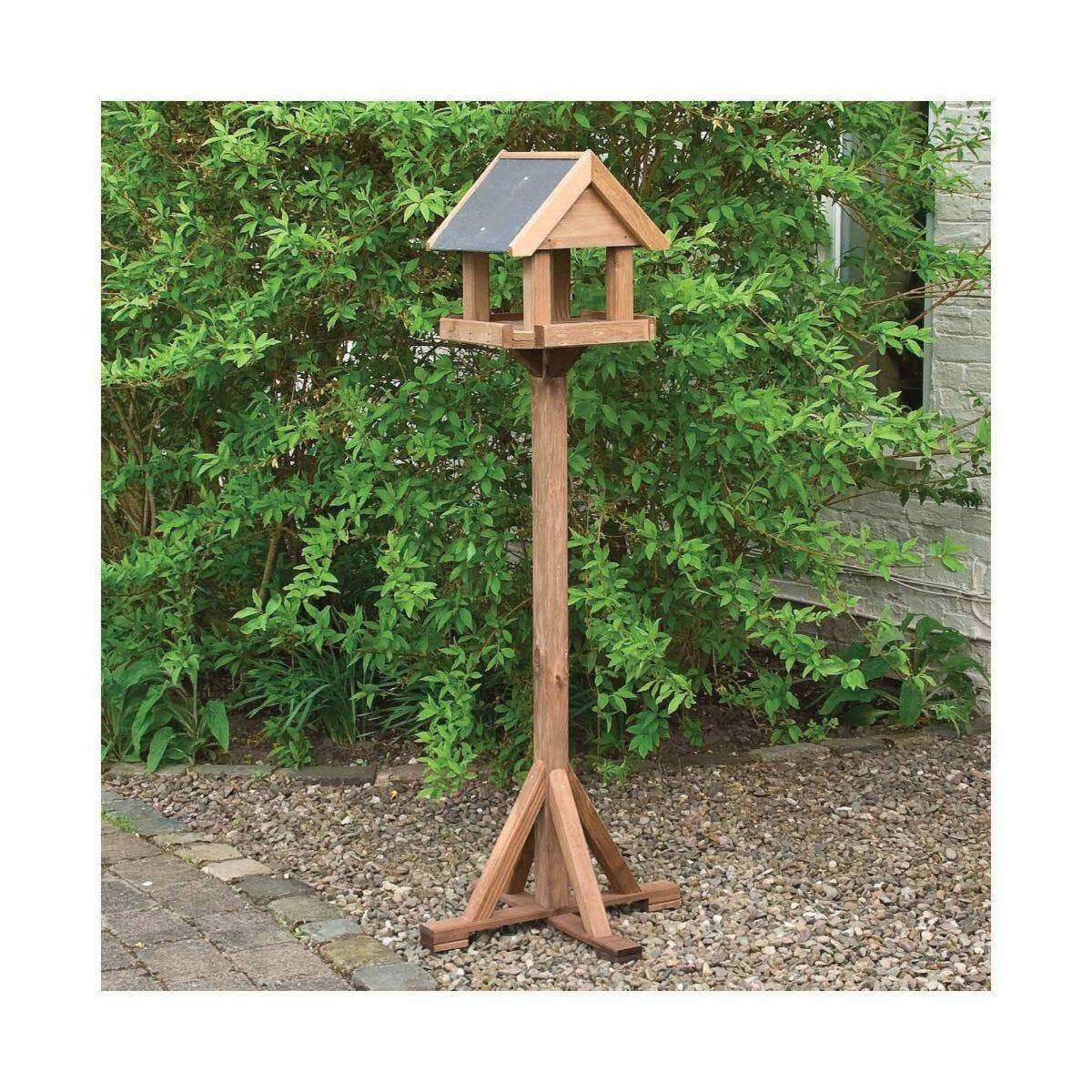 Rowlinson Windrush Wooden Garden Bird Table