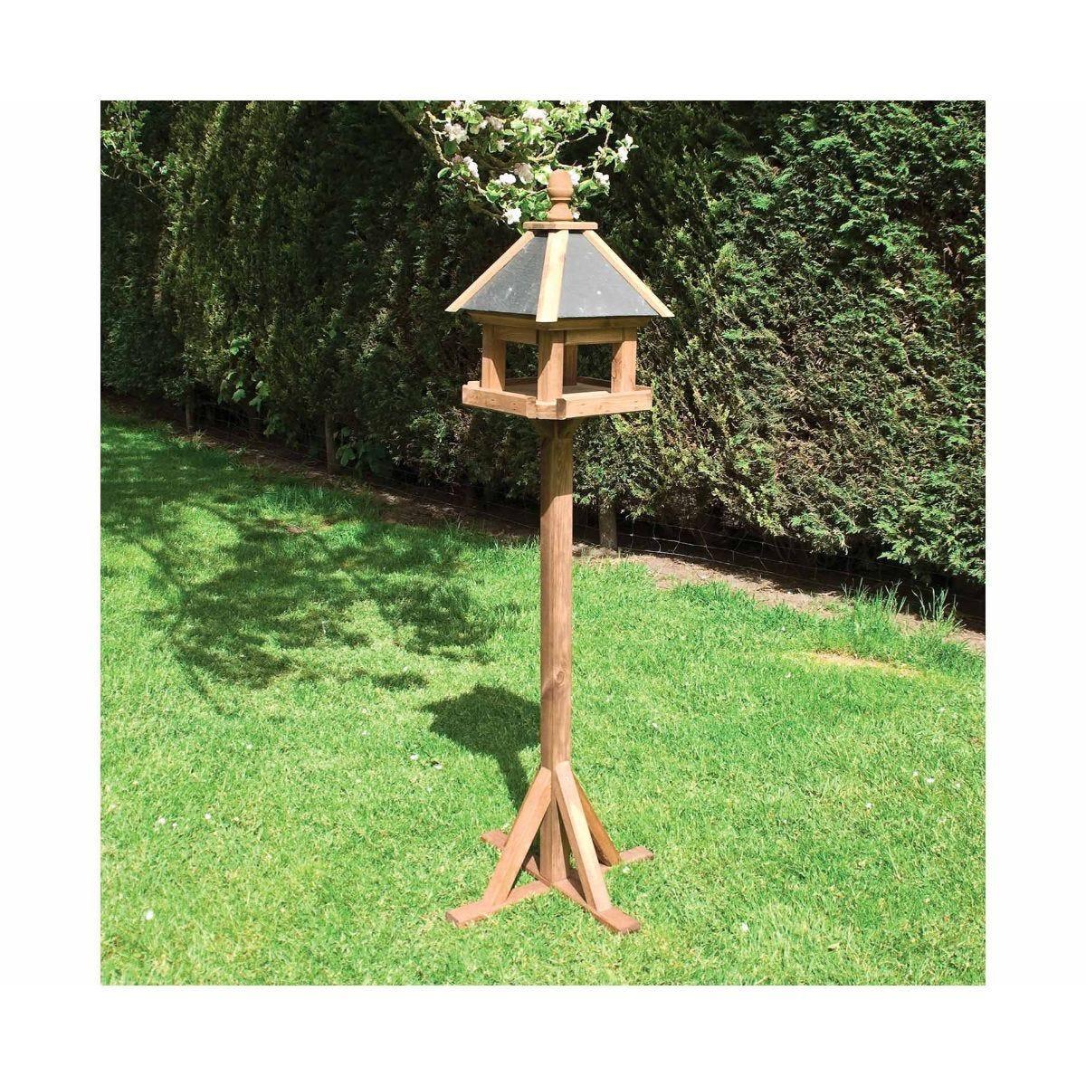 Rowlinson Laverton Wooden Garden Bird Table