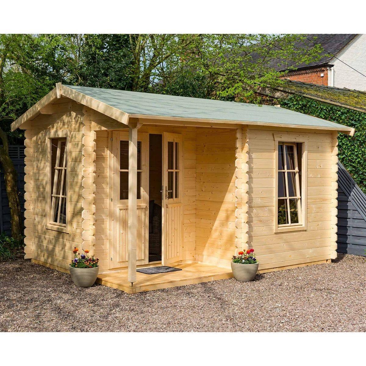 Rowlinson Log Cabin Garden Office