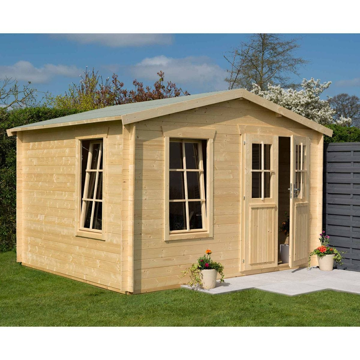 Rowlinson Log Cabin Garden Retreat