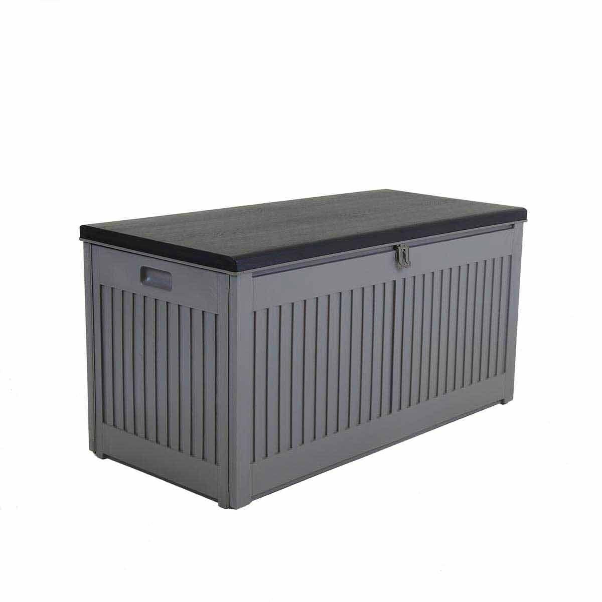 Charles Bentley Plastic Storage Box 270L Grey