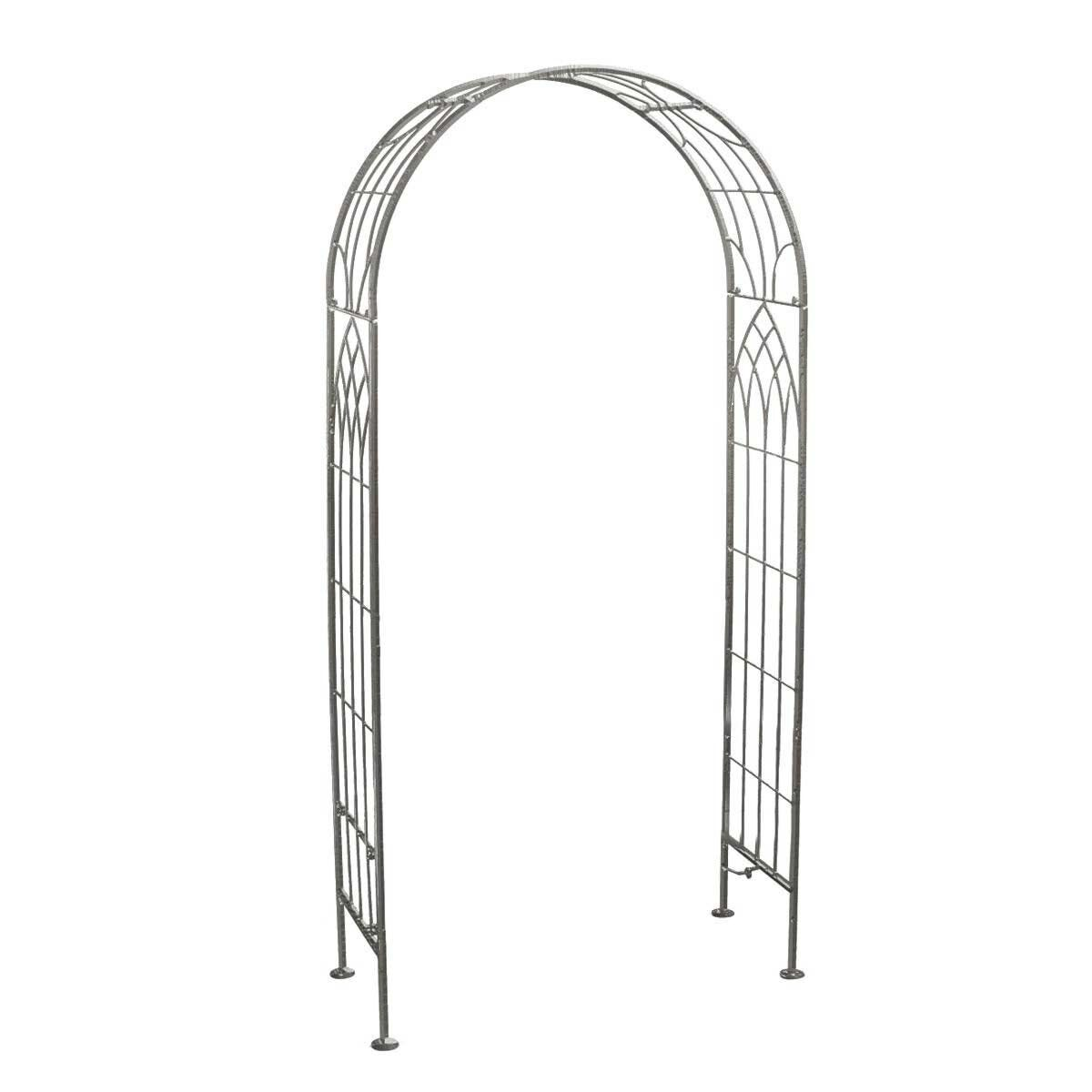 Charles Bentley Wrought Iron Arch Grey