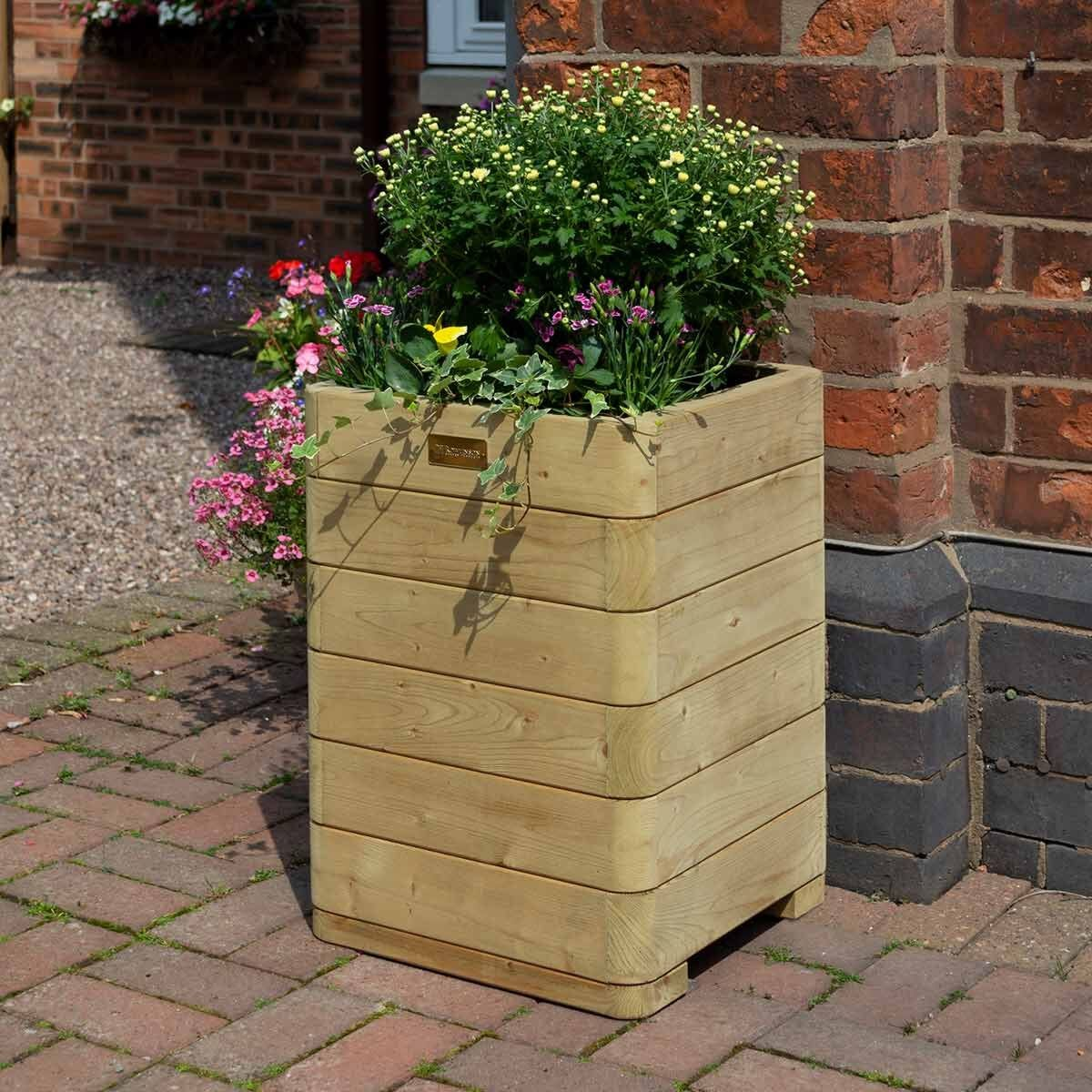 Rowlinson Marberry Tall Planter