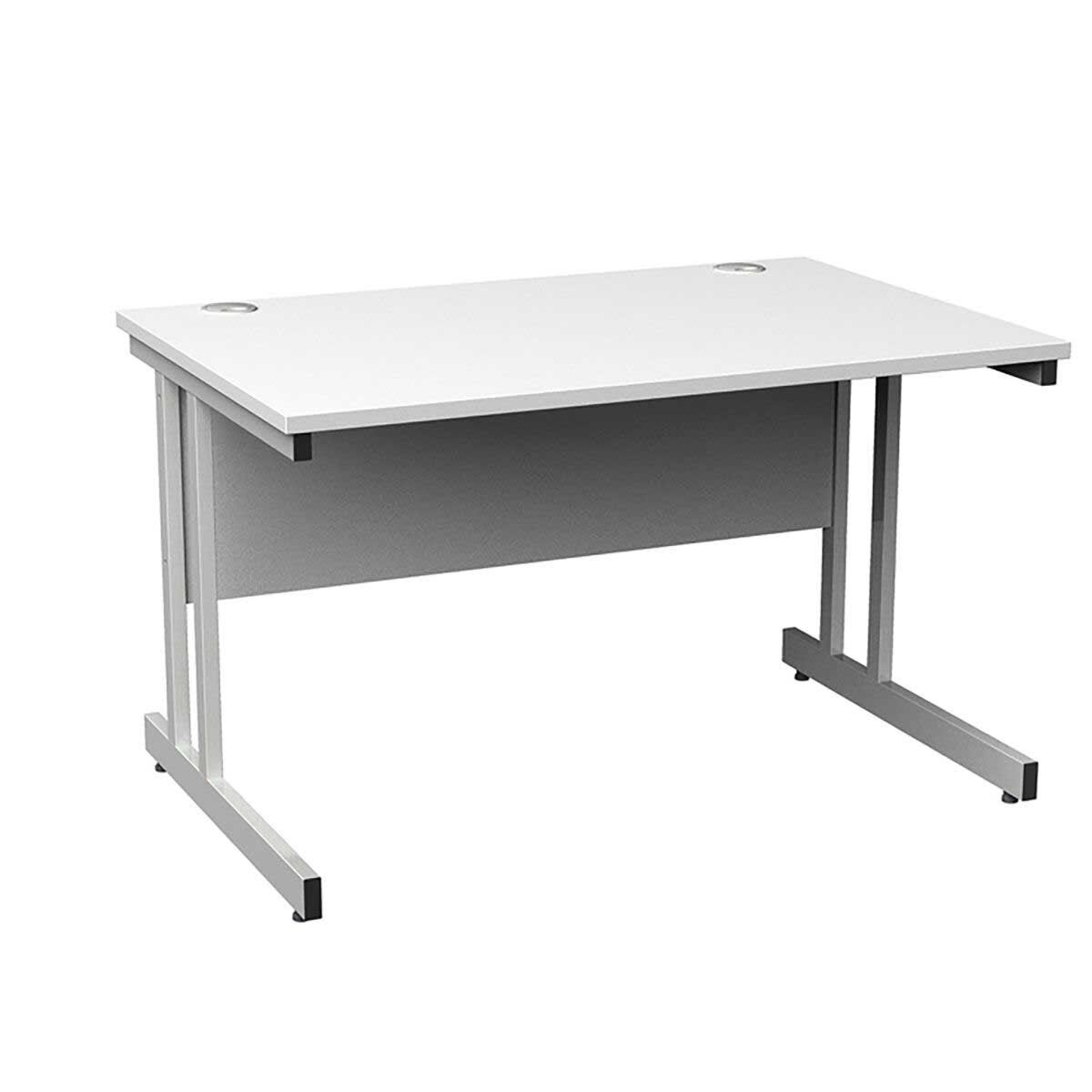 Momento Rectangular Cantilever Framed Desk 1200mm