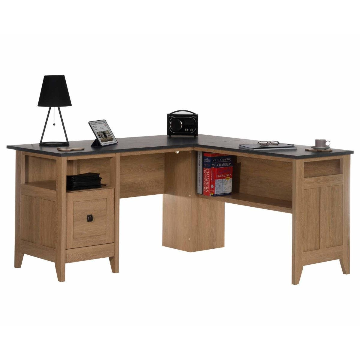 Teknik Office Home Study L Shaped Desk