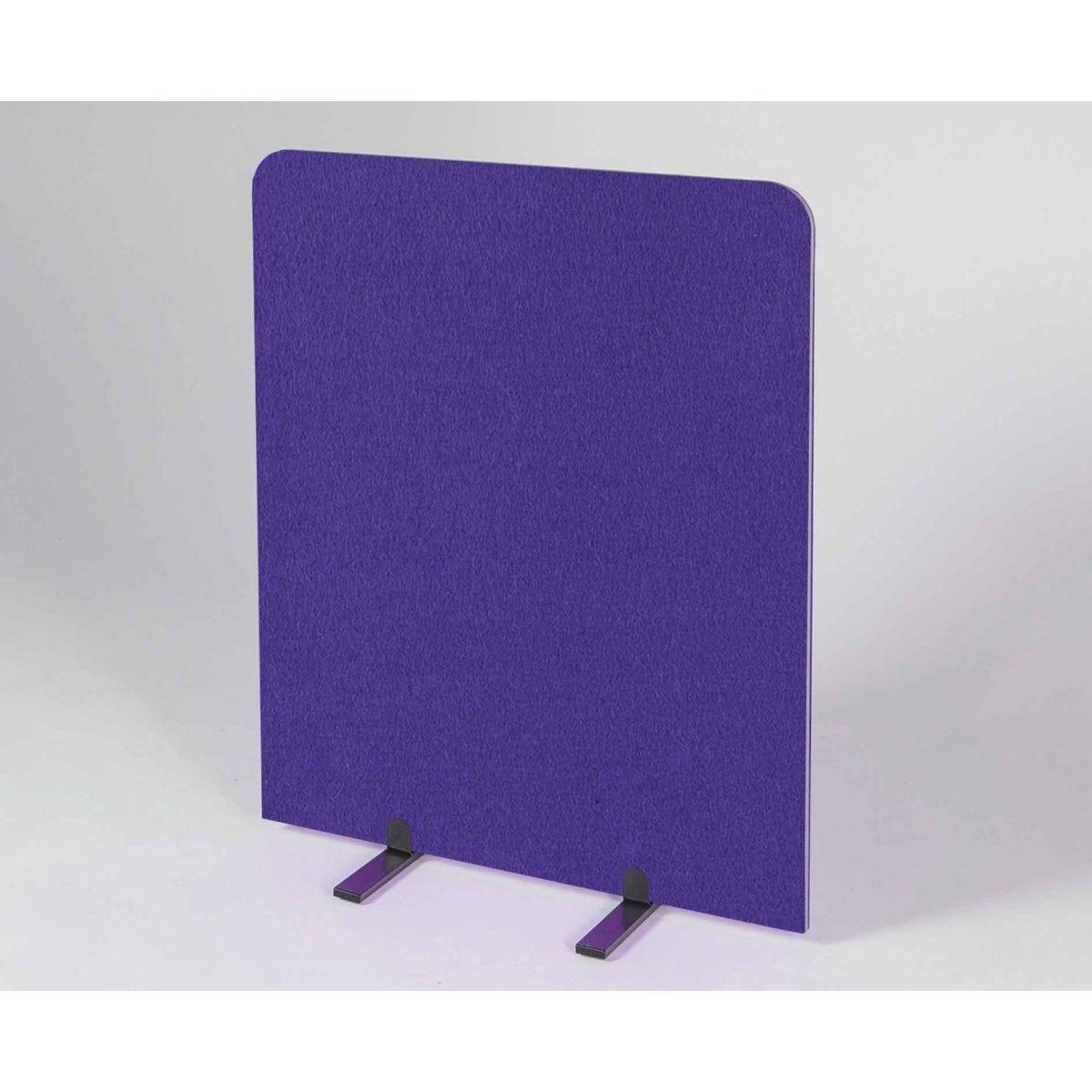 Metroplan BusyScreen Curve Screen 1200 x 1200mm Purple