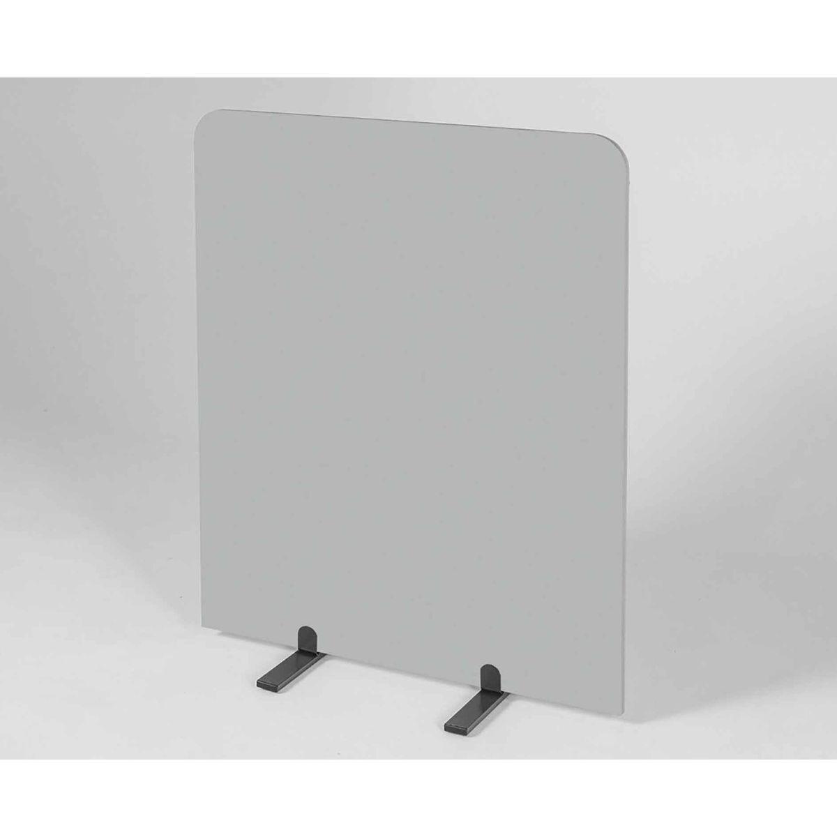 Metroplan BusyScreen Curve Screen 1450 x 1200mm Light Grey