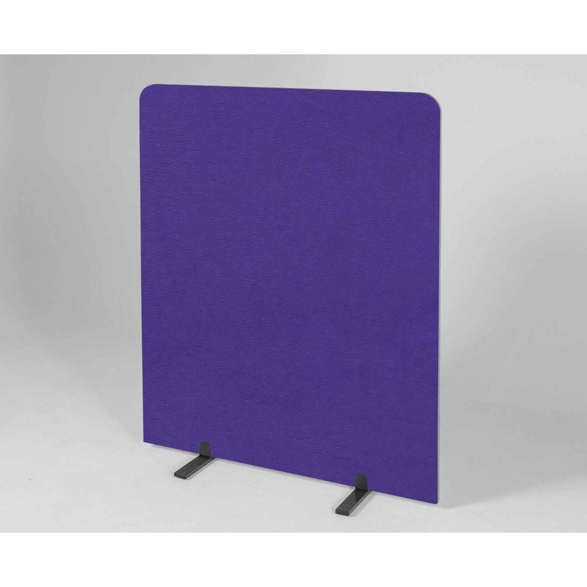 Metroplan BusyScreen Curve Screen 1450 x 1200mm Purple
