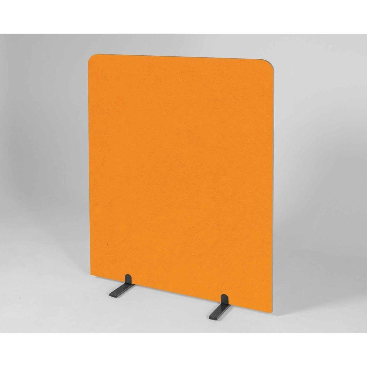 Metroplan BusyScreen Curve Screen 1450 x 1200mm Orange