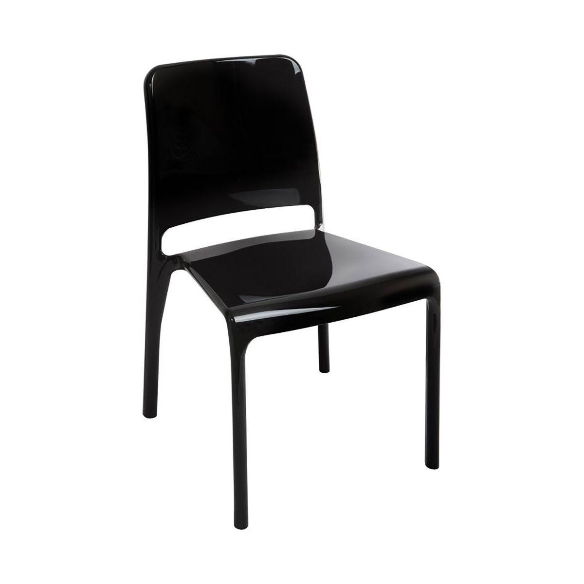 Teknik Office Clarity Breakout Chair Pack of 4 Black