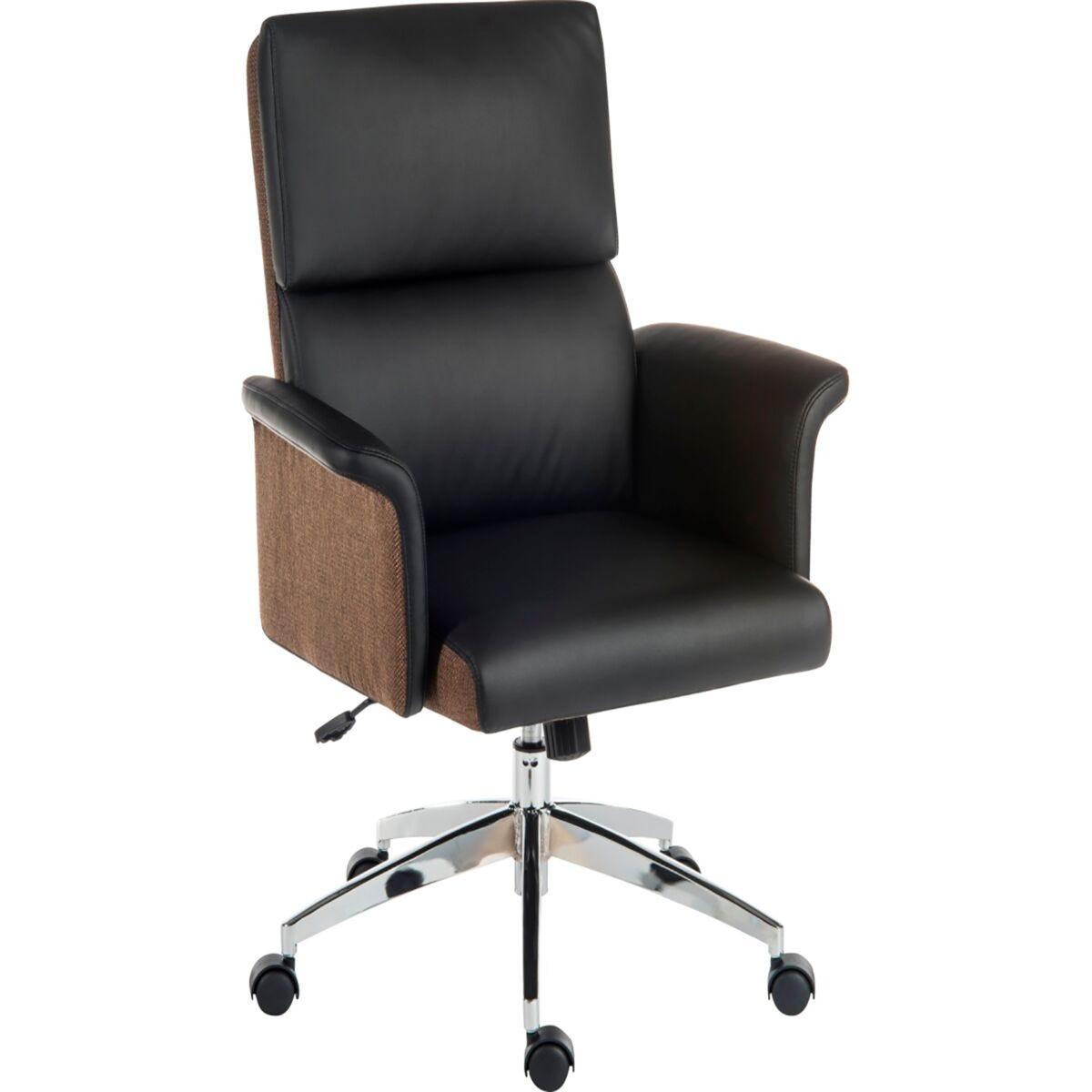 Teknik Office Elegance Medium Back Faux Leather Chair
