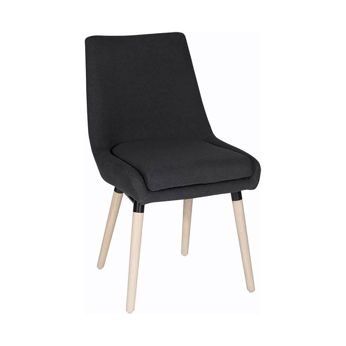 Teknik Office Welcome Breakout Reception Chair Pack of 2 Graphite