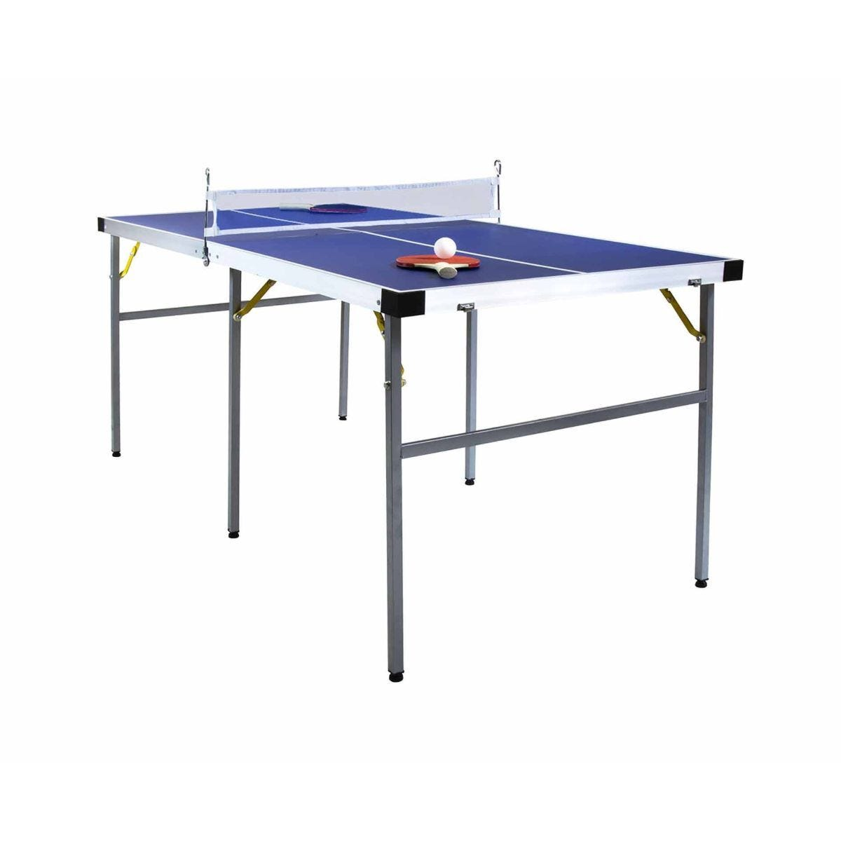 Charles Bentley Junior Folding Table Tennis Set 5ft