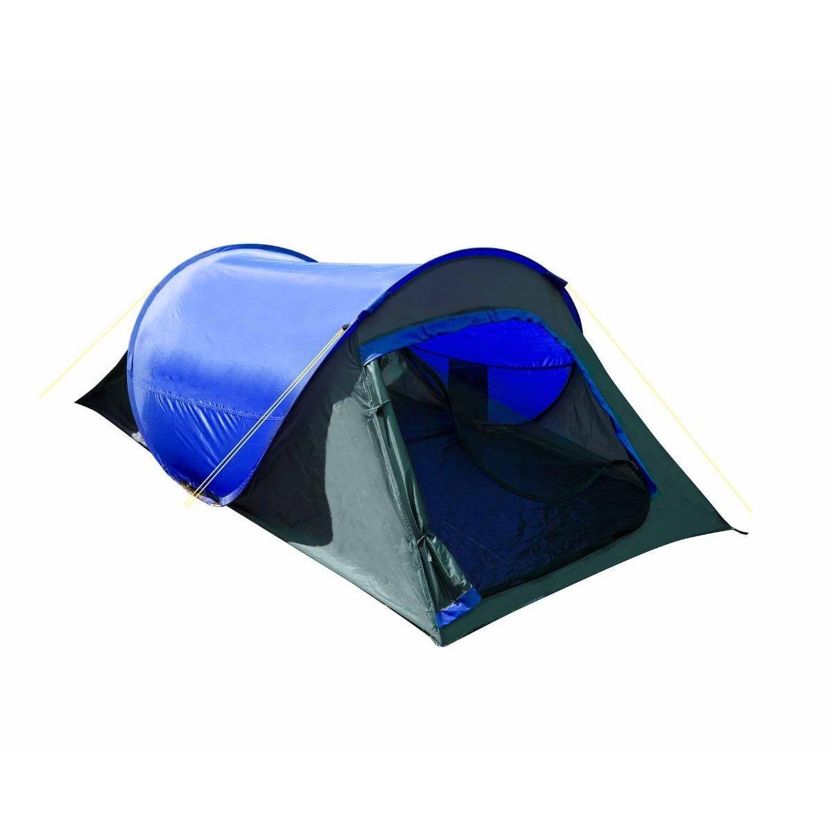 Summit Hydrahalt 2 Man Pop Up Tent 1500HH Grey/Blue