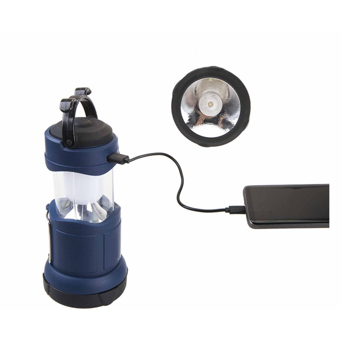 Summit Rechargeable Power Bank Lantern and Spotlight