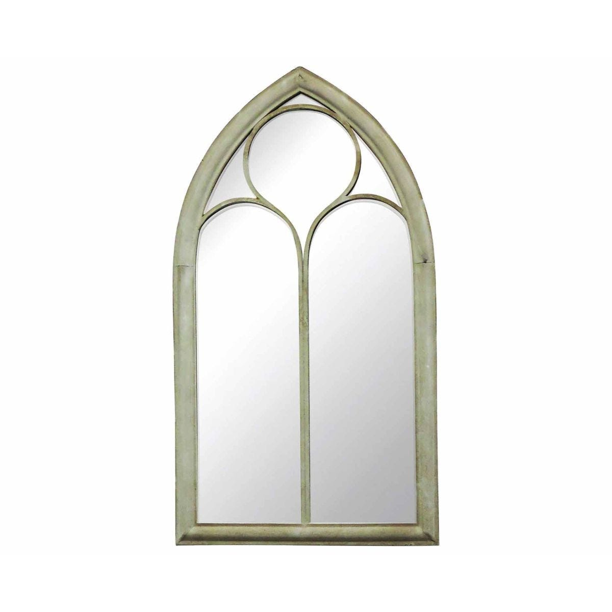 Charles Bentley Gothic Style Chapel Glass Mirror