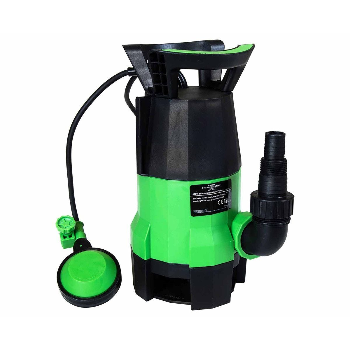 Charles Bentley Electric Submersible Water Pump 400W
