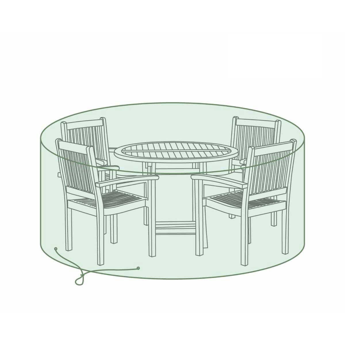 Charles Bentley 4 Seater Set Tarpaulin Garden Furniture Cover