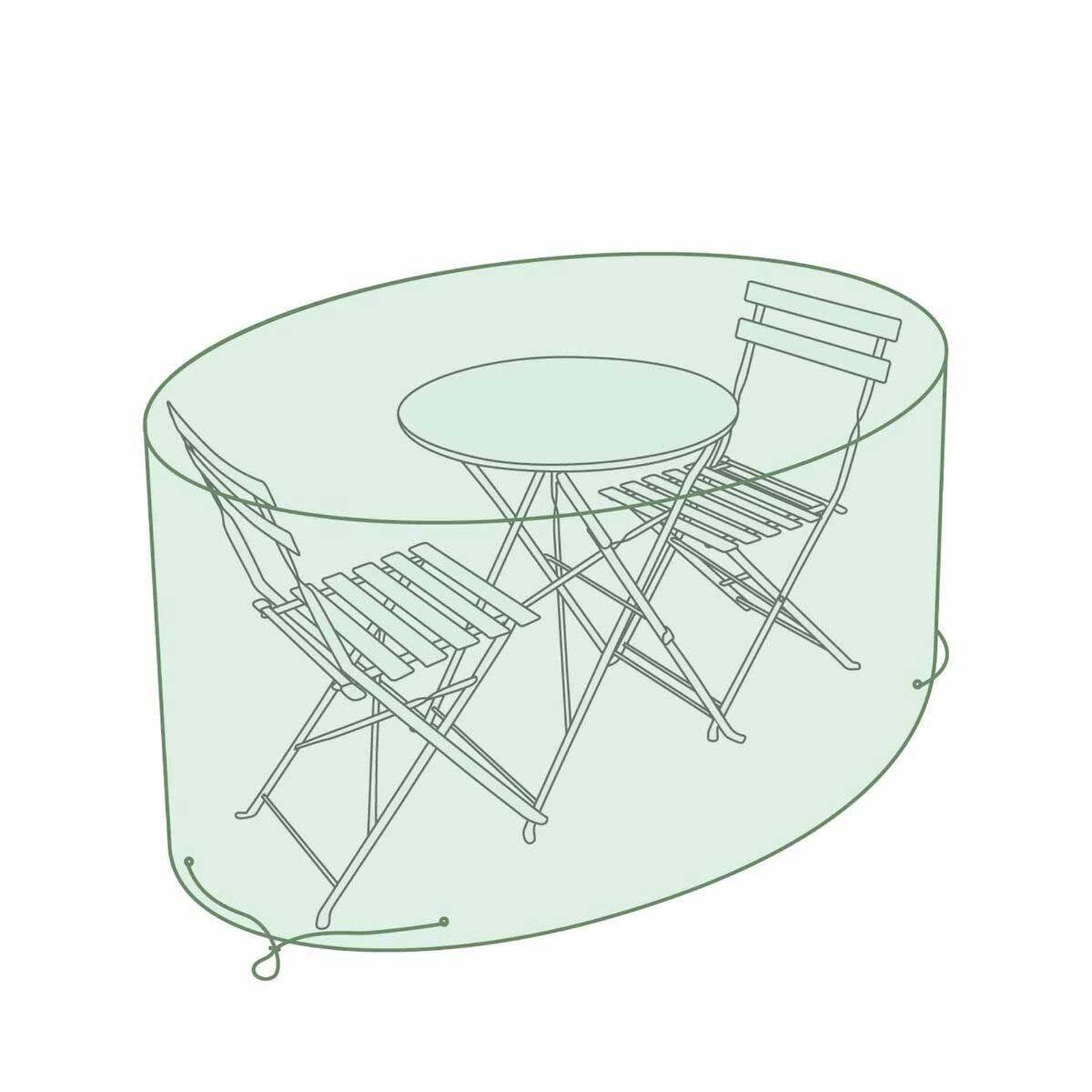 Charles Bentley Small Round Bistro Set Tarpaulin Garden Furniture Cover