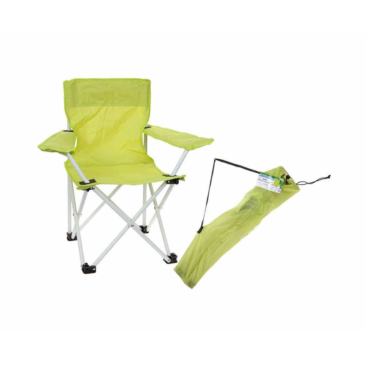 Summit Kids Camping Chair Lime