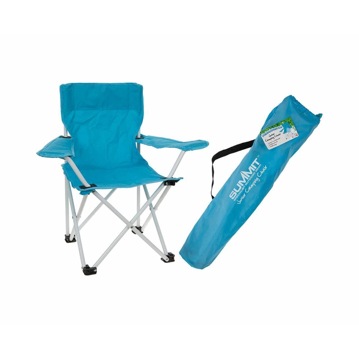 Summit Kids Camping Chair Turquoise