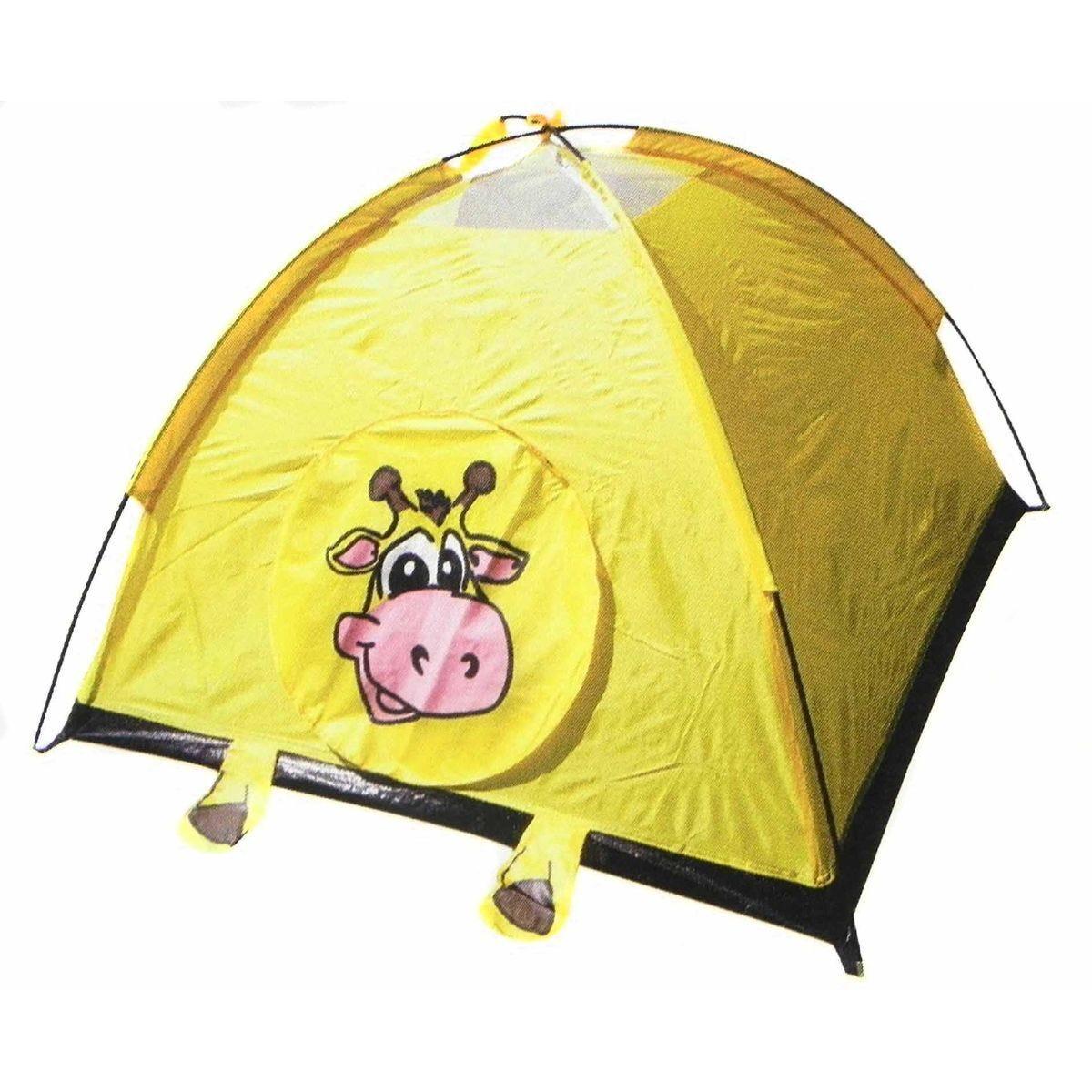 Kids Jungle Animal Camping Play Tent Giraffe