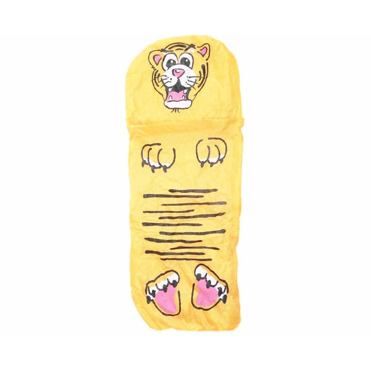 Childrens Jungle Animal Sleeping Bag Tiger