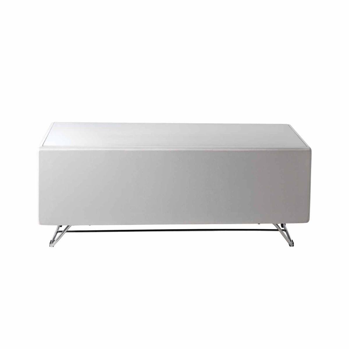 Alphason Chromium Concept 1200 TV Cabinet with Speaker Mesh Front
