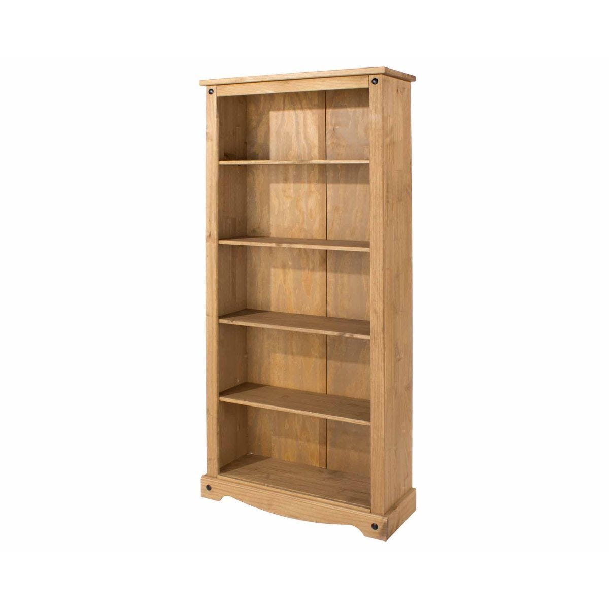 Corona Antique Wax Tall Bookcase