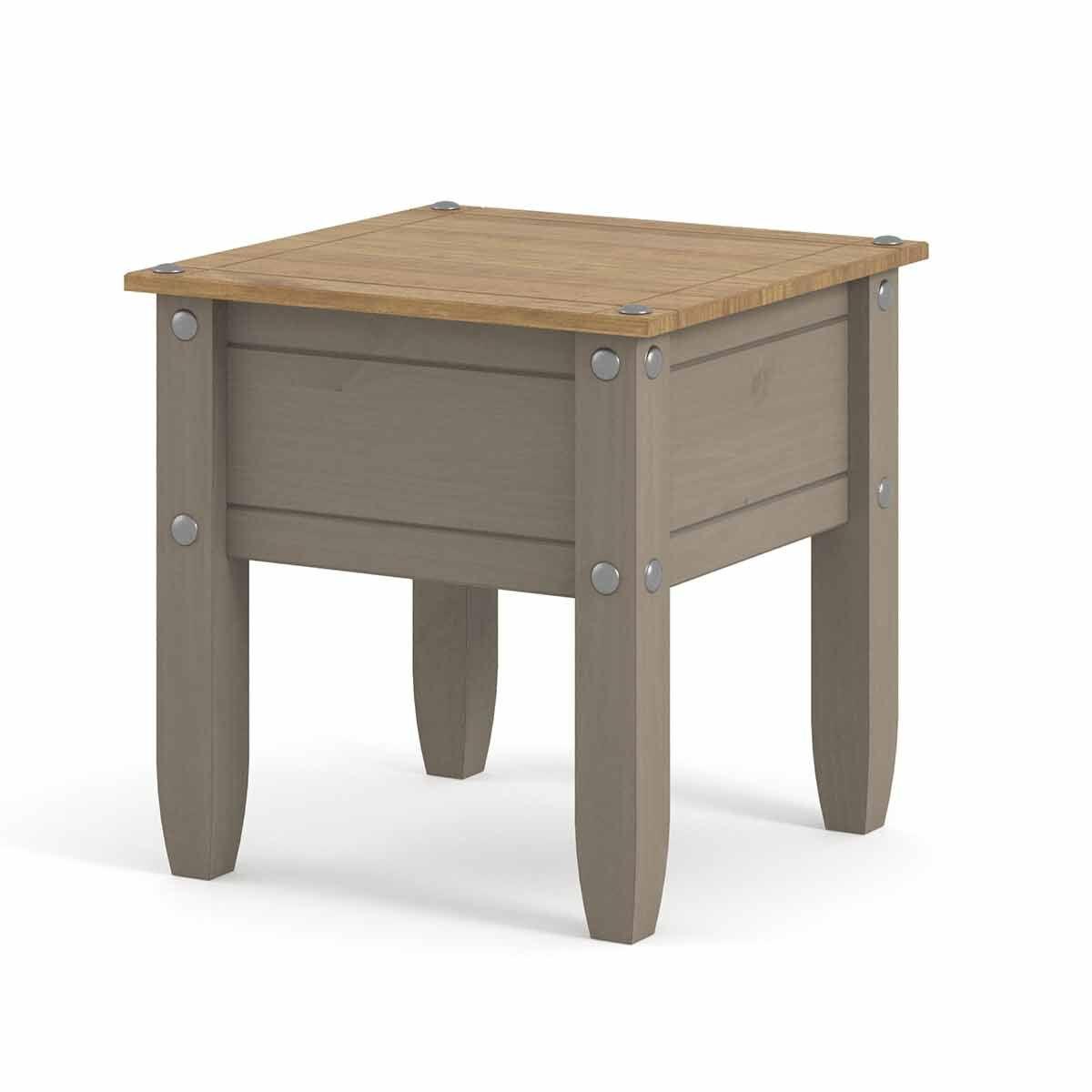 Corona Grey Lamp Table