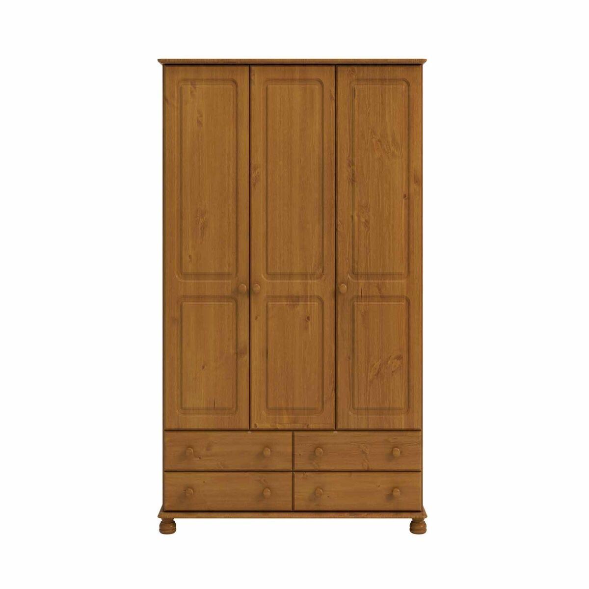 Steens Richmond 3 Door Over 4 Drawer Wardrobe