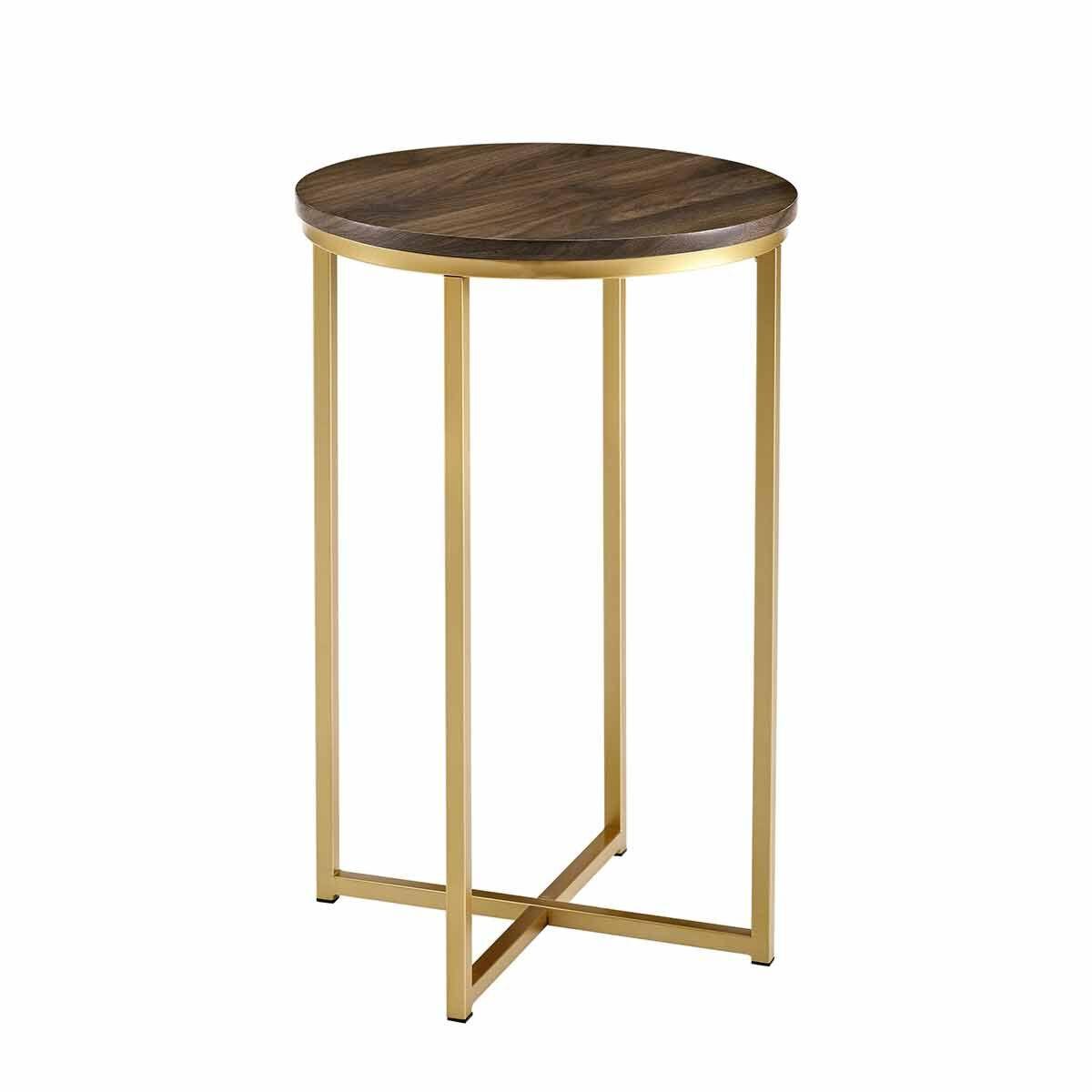 Vigo Glam Round Side Table