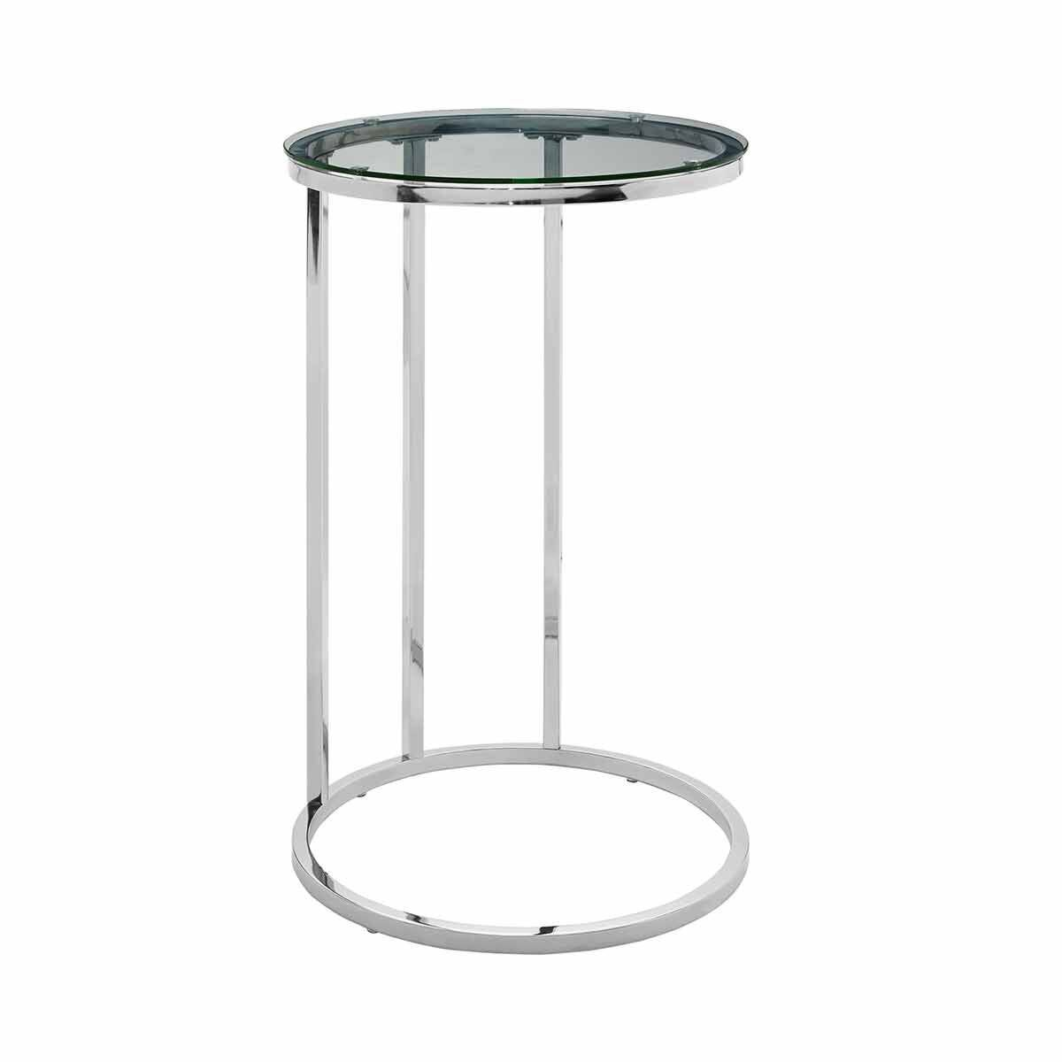 Cadiz Modern Round End Table