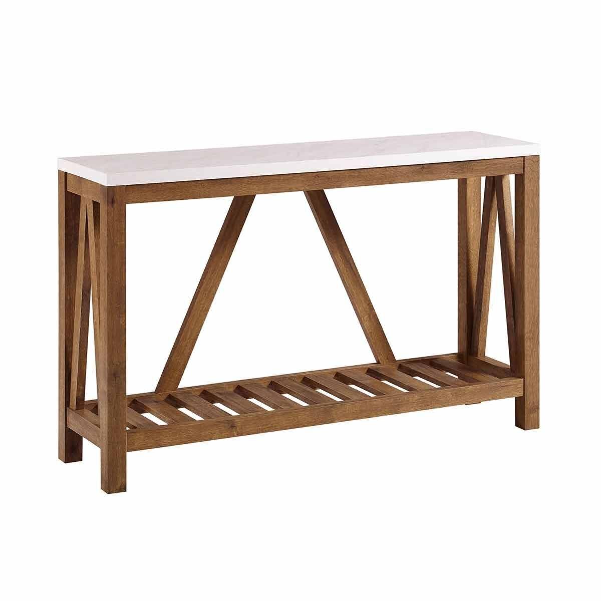 Martos Rustic Entryway Table
