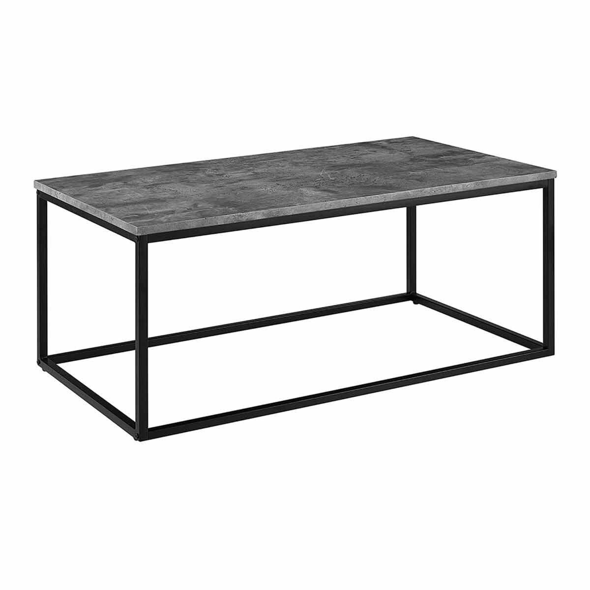 Girona Industrial Coffee Table Grey