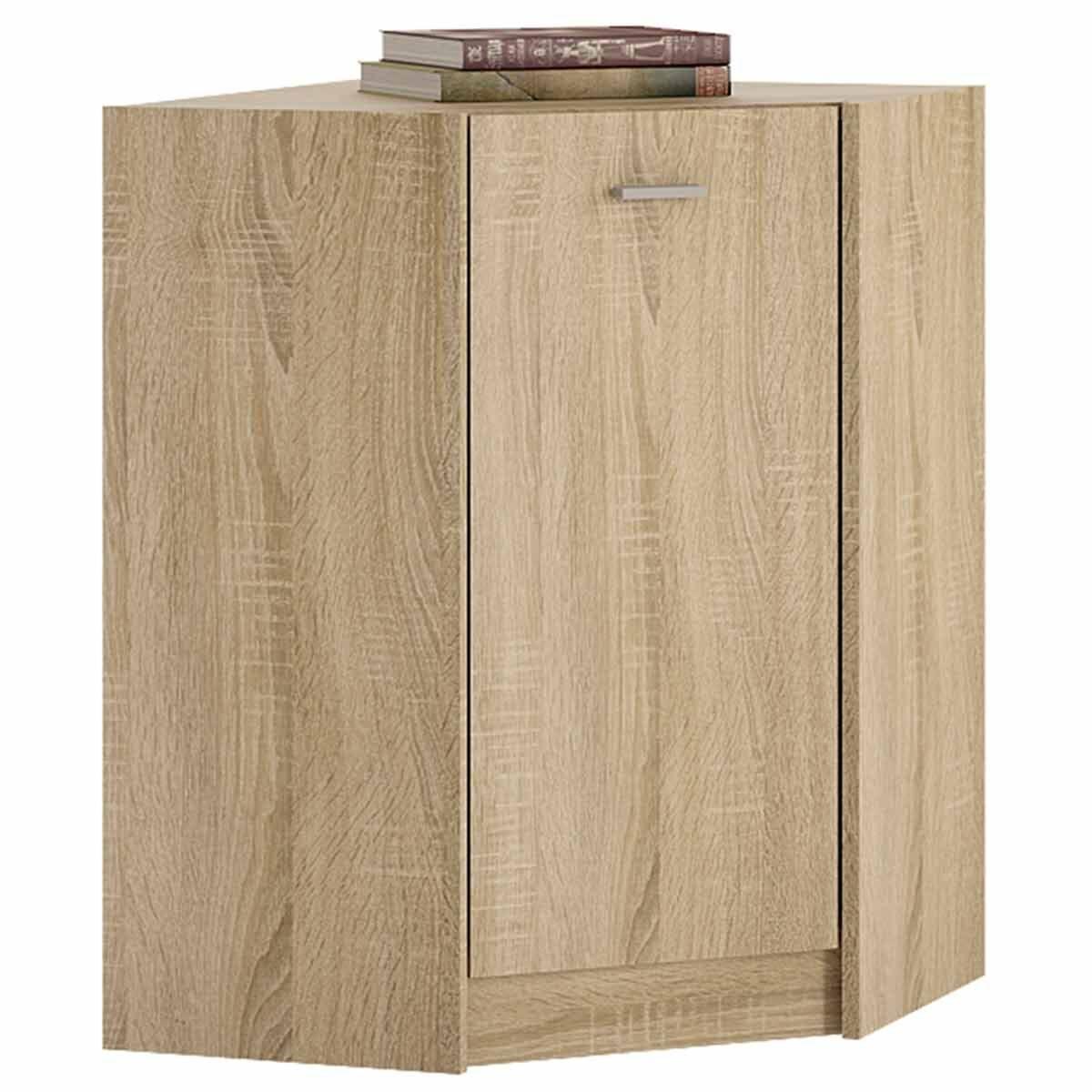 Belgravia Corner Cupboard Sonama Oak