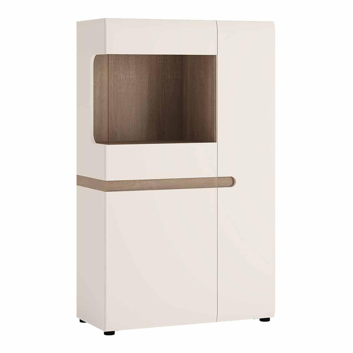 Chelsea Living Low Display Cabinet 85cm