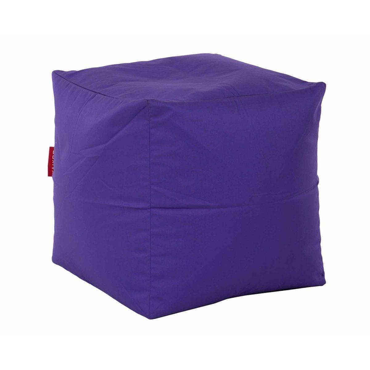Kaikoo Kids Cube Beanbag Purple