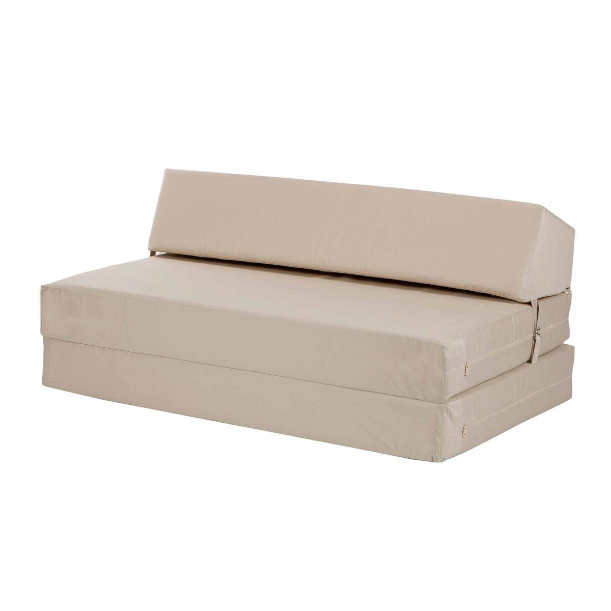 Kaikoo Double Flip Bed Cream