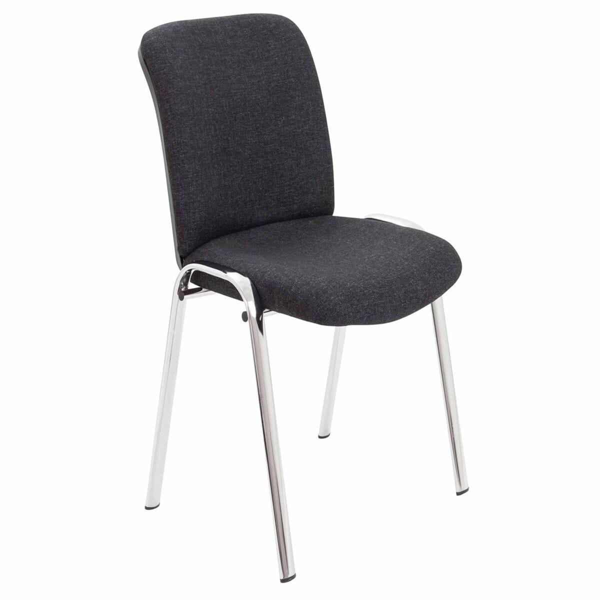 TC Office Pavilion Fabric Conference Chair with Chrome Frame